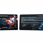 Sample - front and back of a profile card
